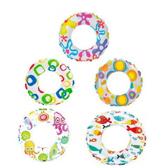 "Круг надувной ""Lively Print Swim Rings""(3-6лет) 51 см int59230NP Intex"