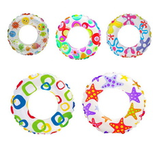 "Круг надувной ""Lively Print Swim Rings""(6-10лет) 61 см int59241NP Intex"