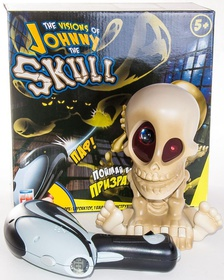 "Johnny the Skull ""Проектор Джонни Череп с бластером"" - интерактивный тир"